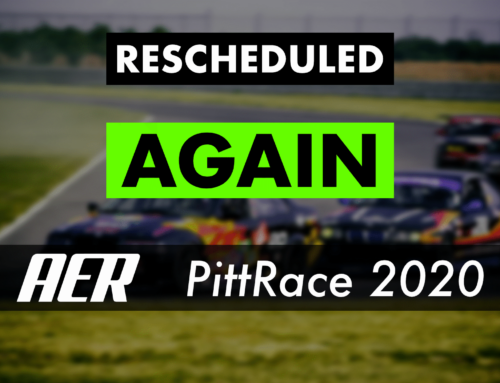 PittRace Rescheduled AGAIN!